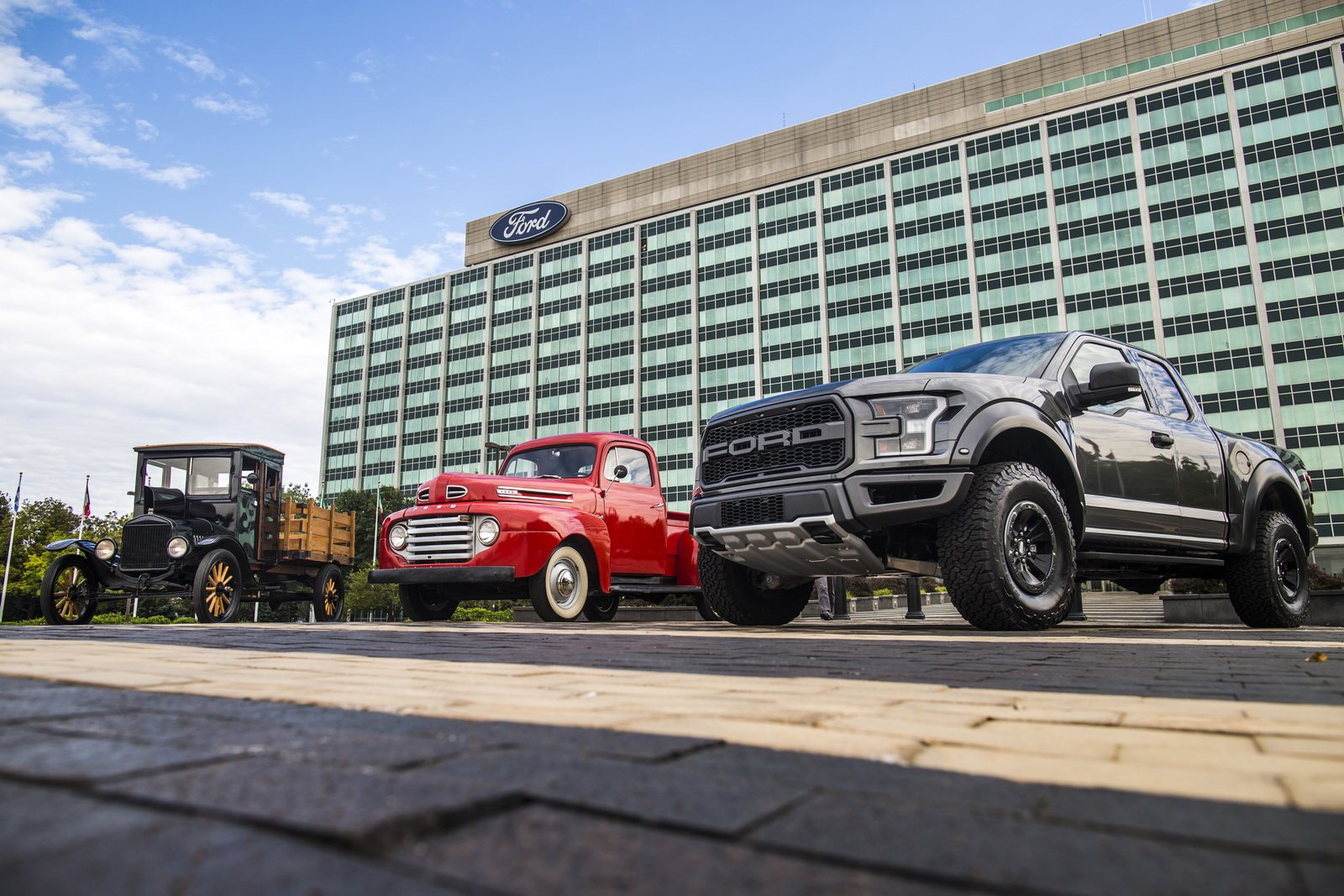 One hundred years ago today, Ford introduced its first purpose-built truck, the 1917 Ford Model TT, forever changing the auto industry – and the very nature of work itself.