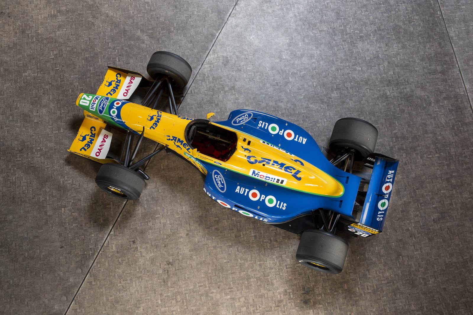 1991_Benetton-Ford_B191_13