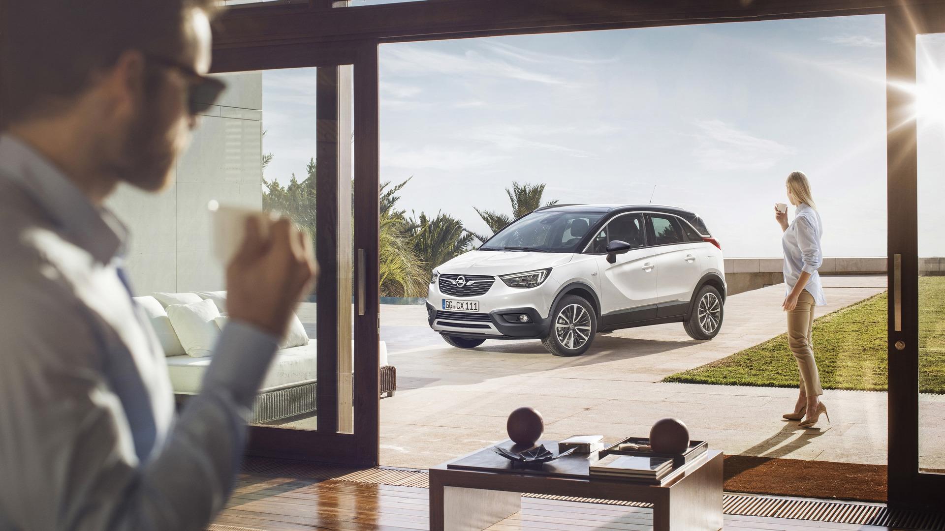 The new Opel Crossland X