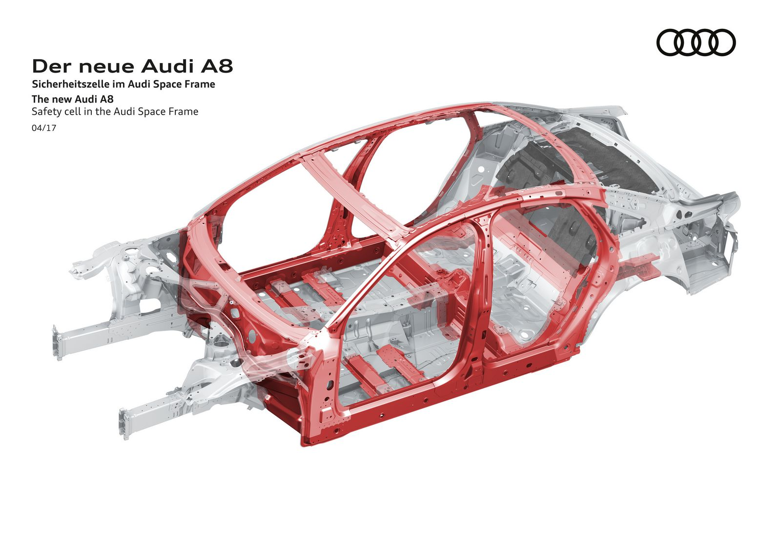 Safety cell in the Audi Space Frame