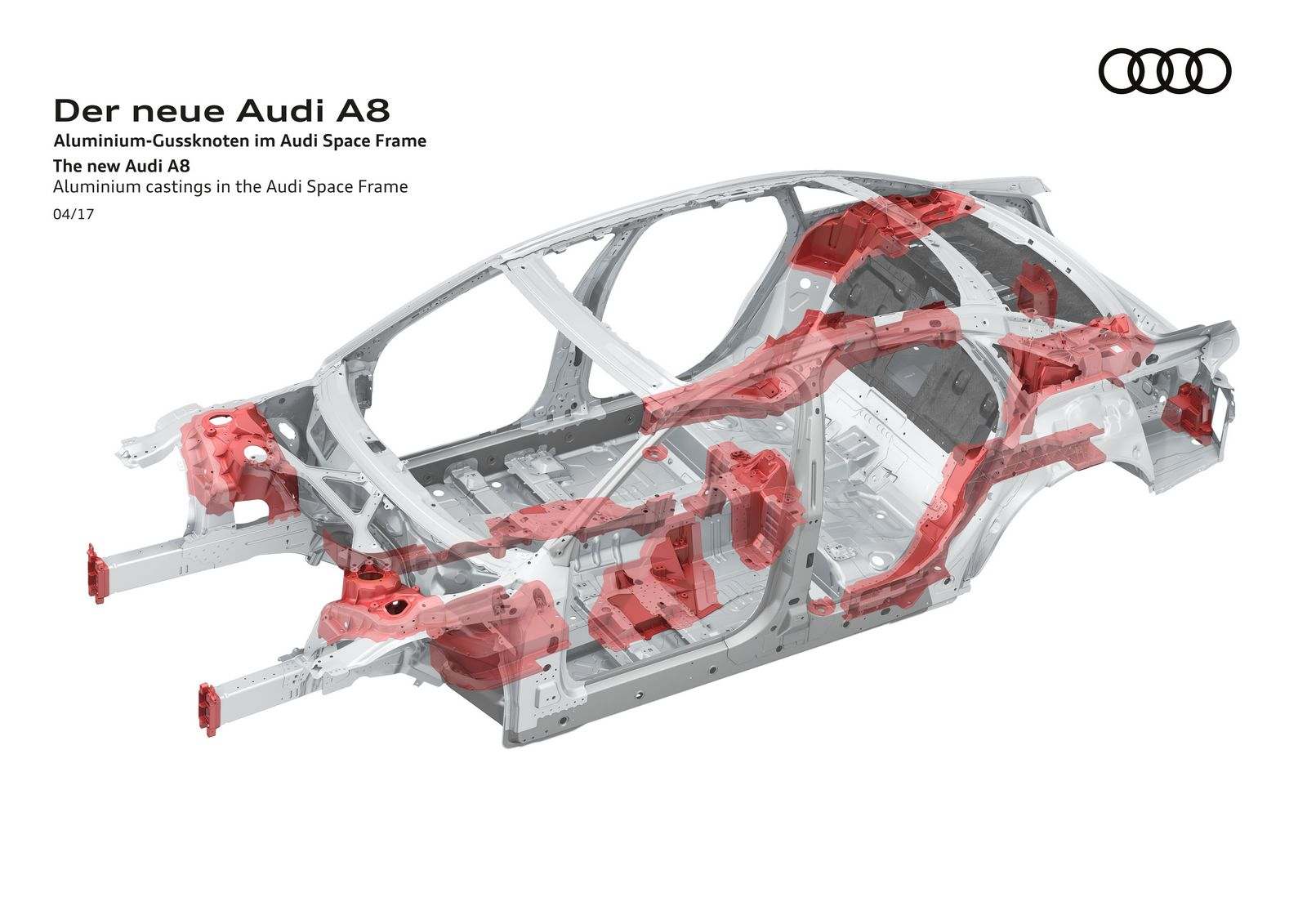 Aluminium castings in the Audi Space Frame