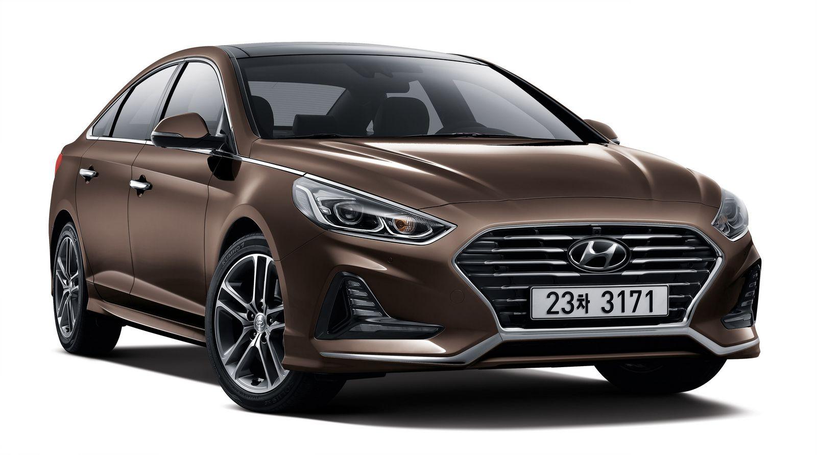 Facelift Hyundai Sonata --2