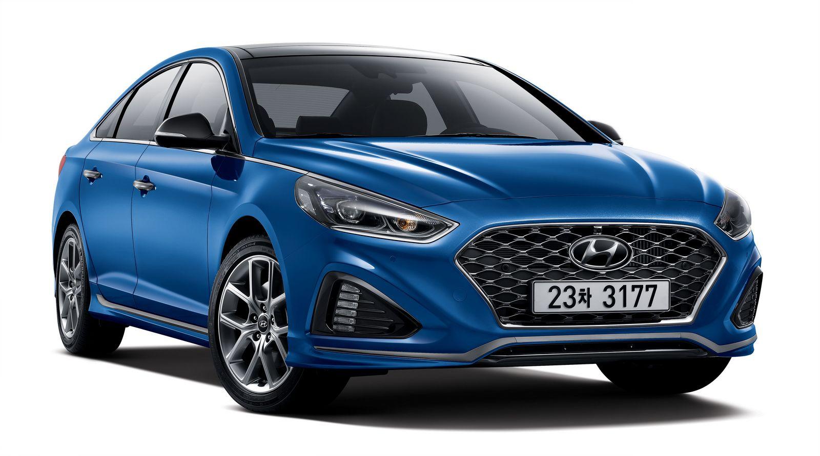 Facelift Hyundai Sonata --3
