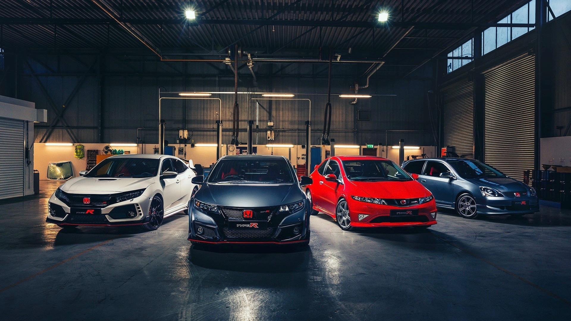 Civic Type R UK Generations