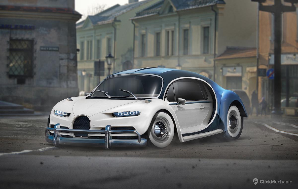Bugatti+Chiron_VW+Beetle