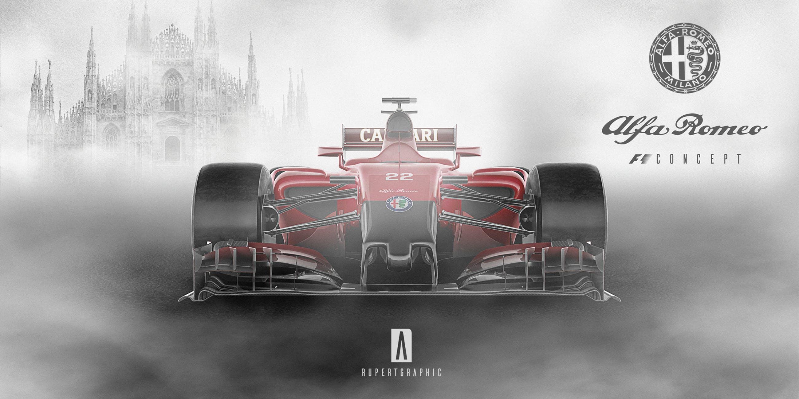 Alfa Romeo F1 renderings (3)