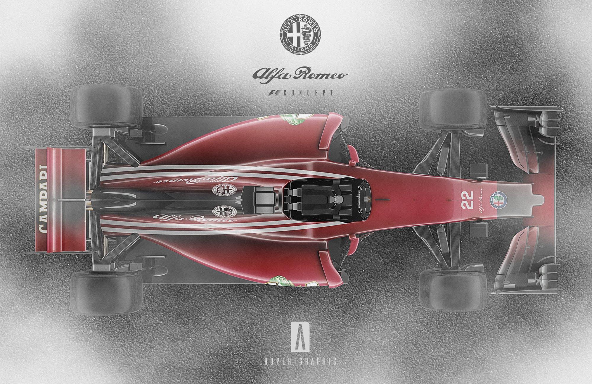 Alfa Romeo F1 renderings (4)