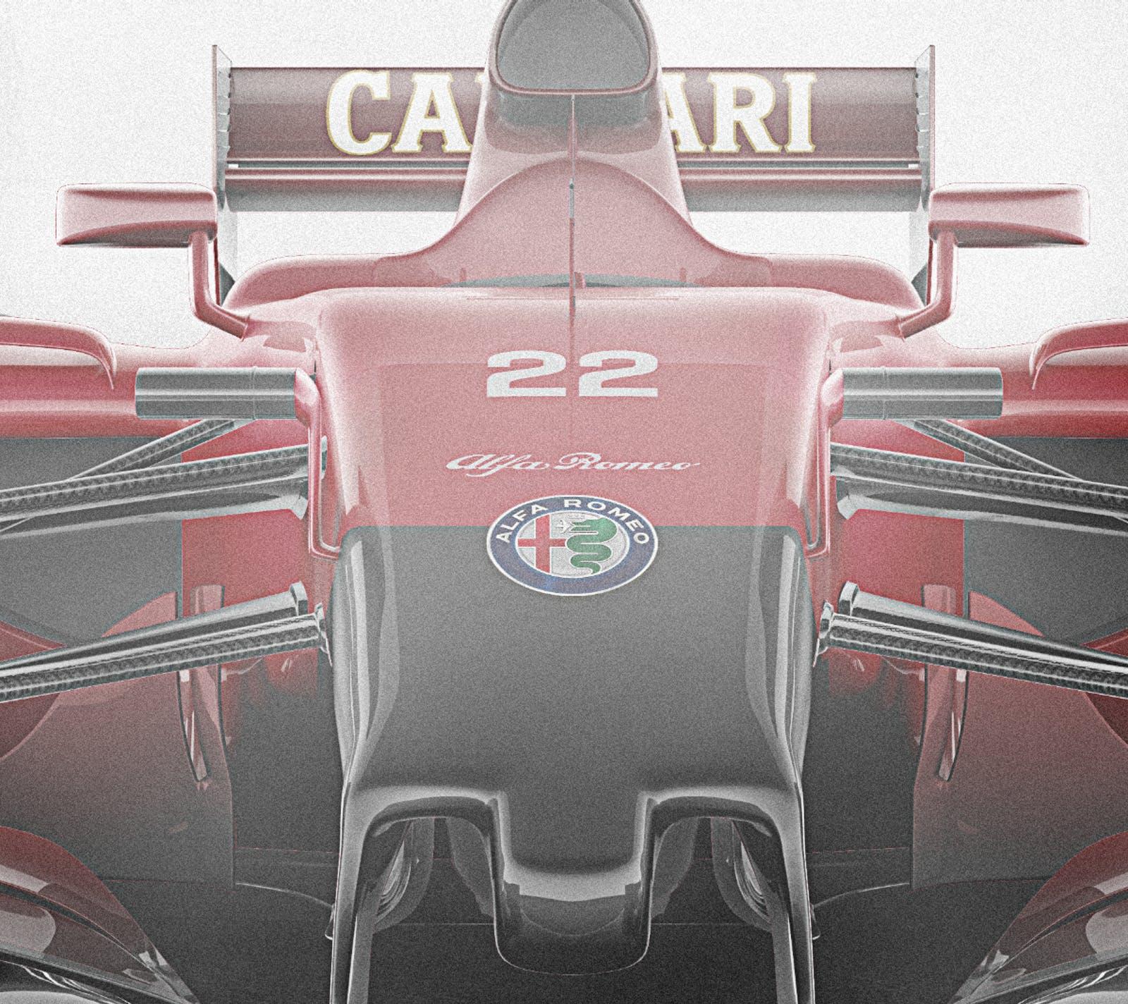 Alfa Romeo F1 renderings (6)