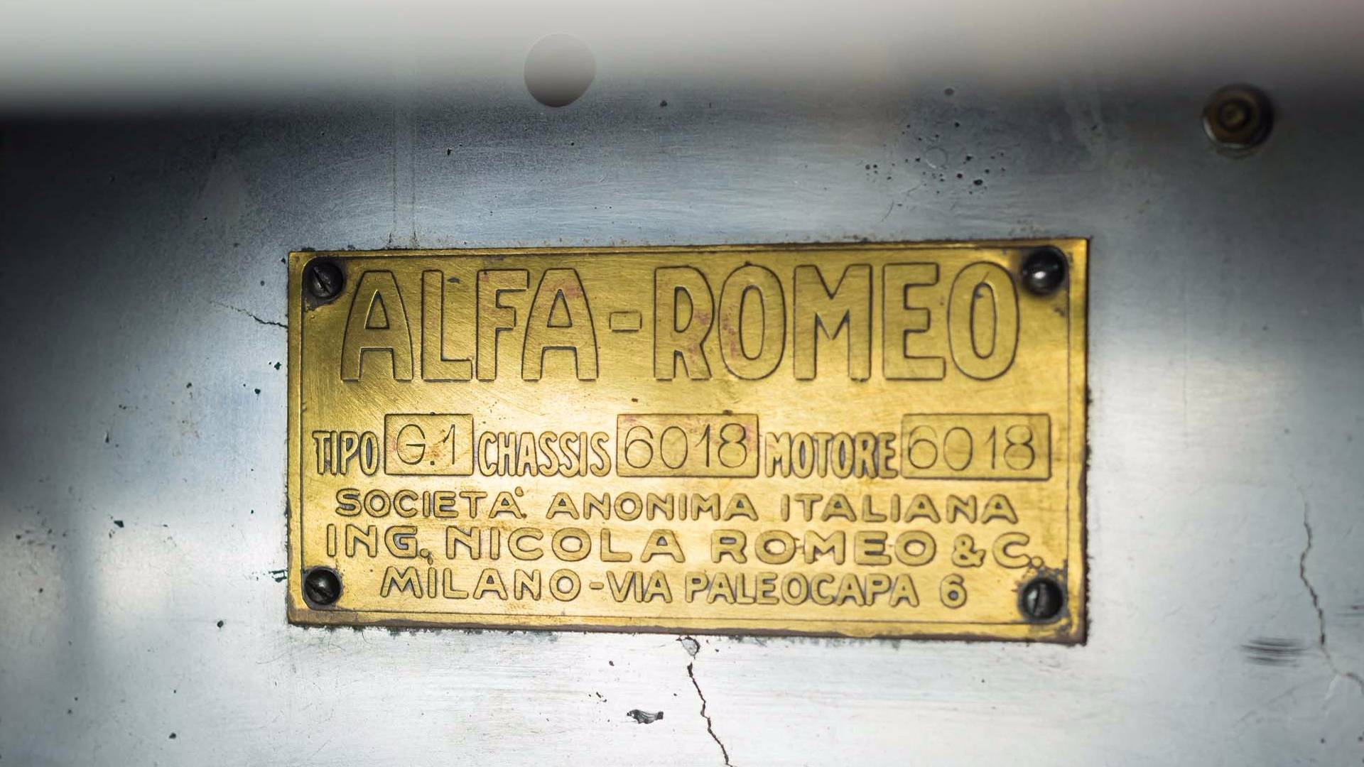 Alfa Romeo G1 1921 in auction (29)