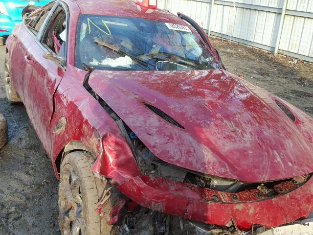 Alfa Romeo Giulia Quadrifoglio crash (2)