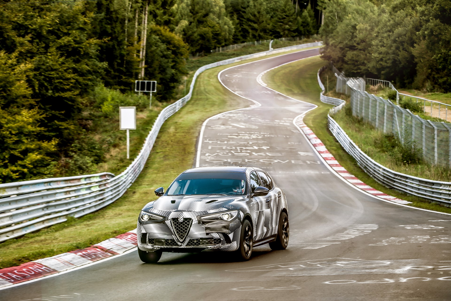 Alfa Romeo Stelvio QuadrifoglioNurburgring record (2)