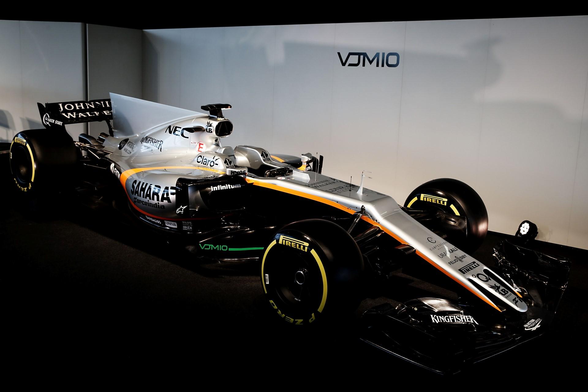 Sahara Force India F1 VJM10 Launch