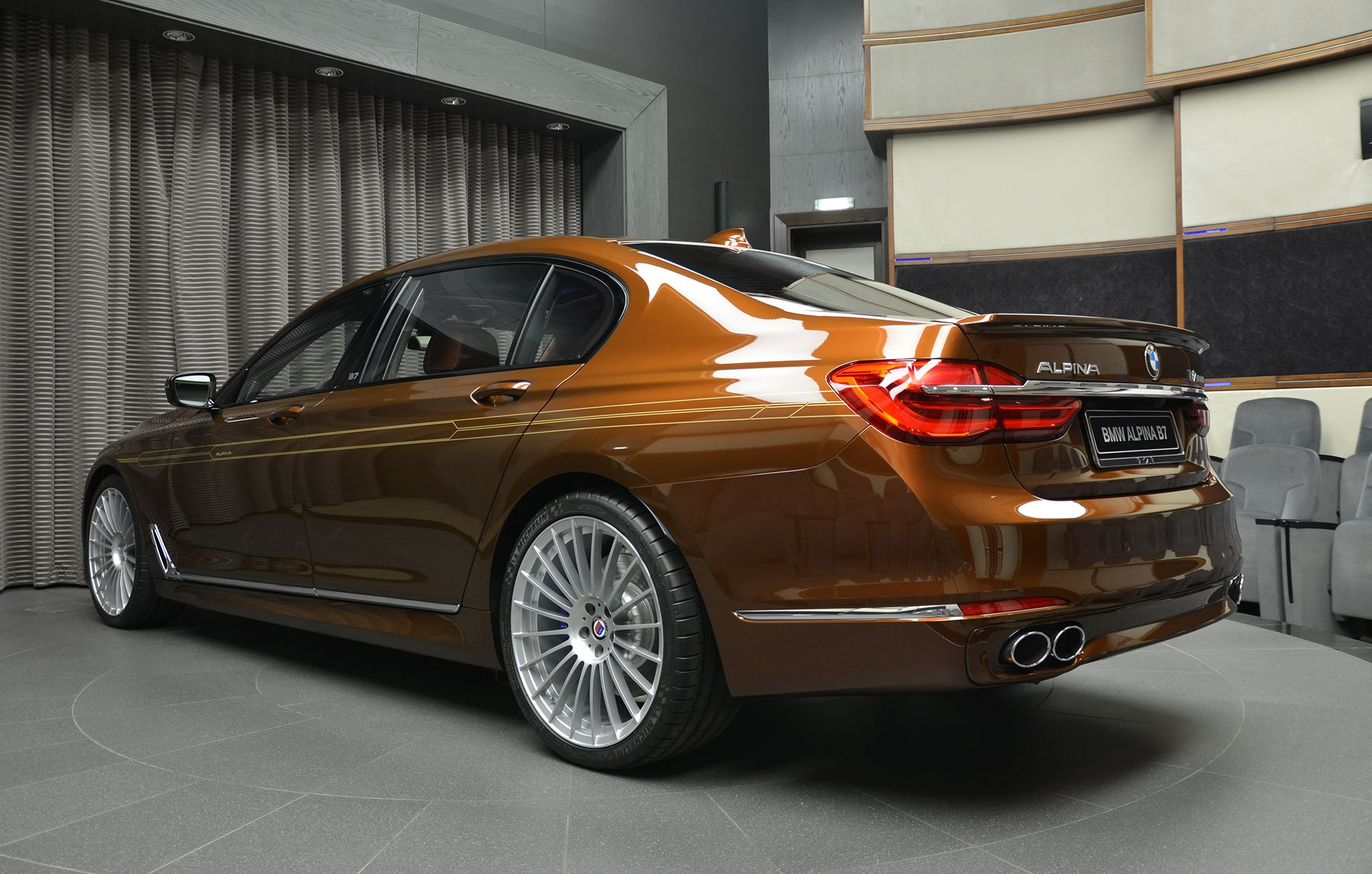 Alpina B7 BiTurbo brown (6)