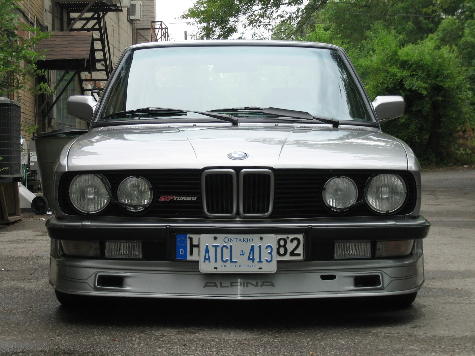 Alpina B7 Turbo 1986 for sale (1)