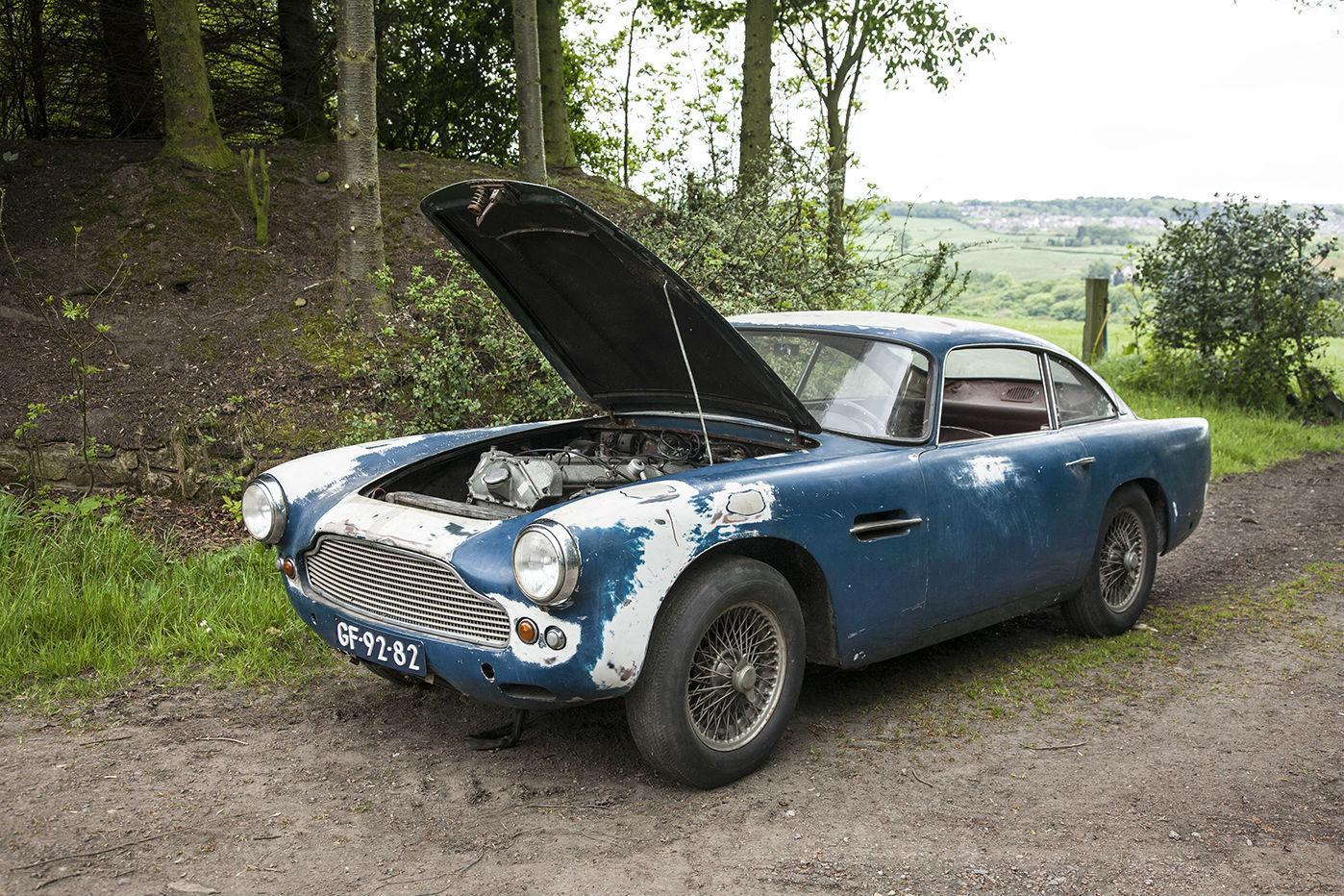 Aston Martin DB4 Series I barnfind (8)