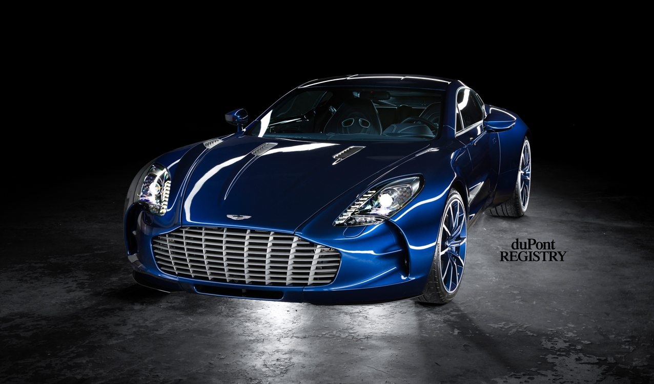 Aston Martin One-77 blue for sale (1)