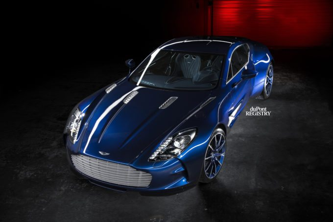 Aston Martin One-77 blue for sale (5)