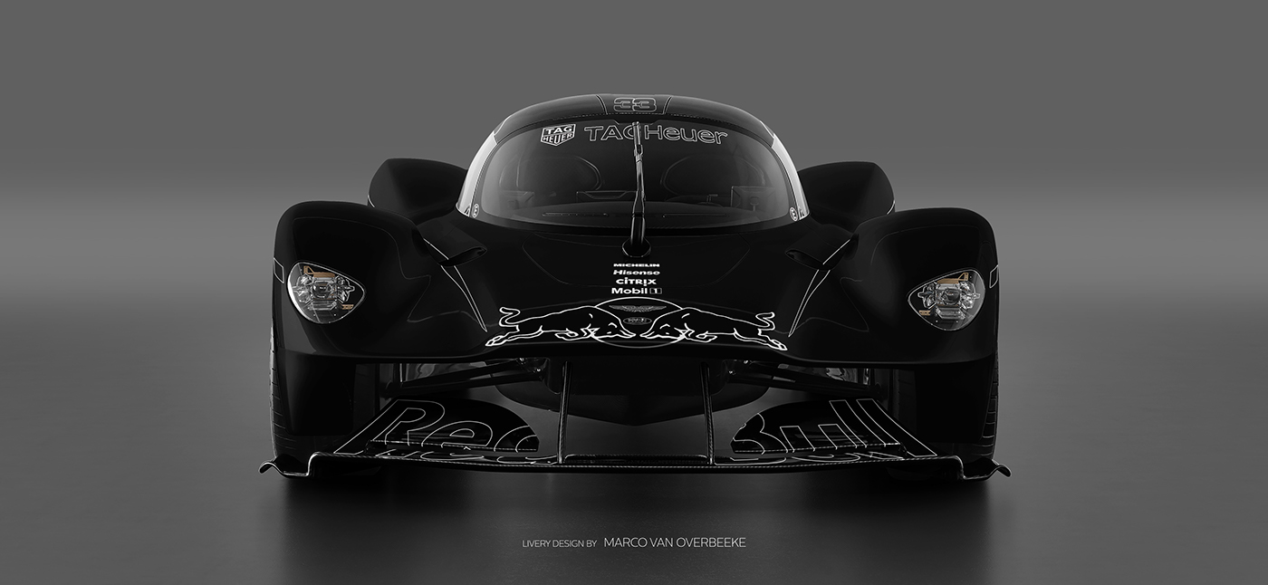 Aston Martin Valkyrie Livery Volante and AMR concepts (10)