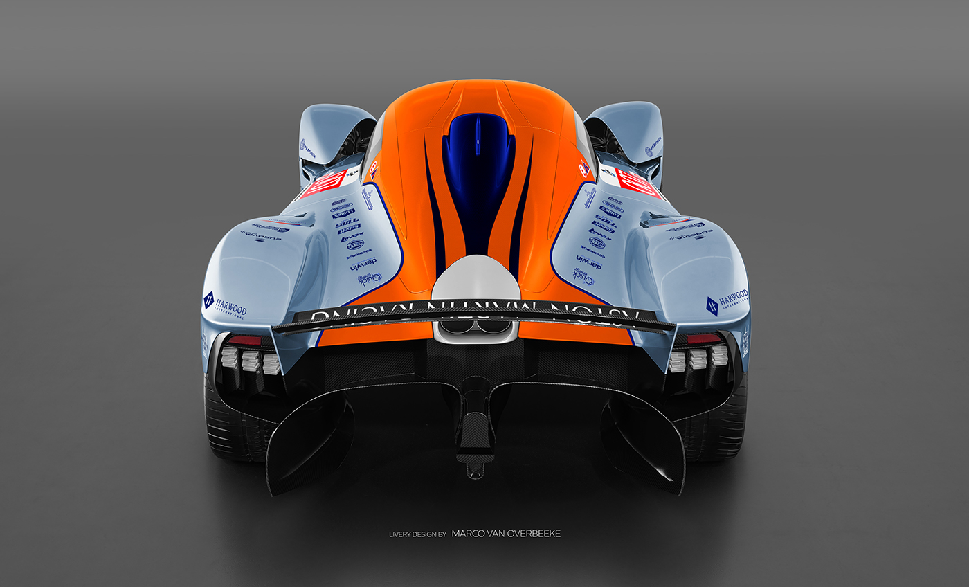 Aston Martin Valkyrie Livery Volante and AMR concepts (11)