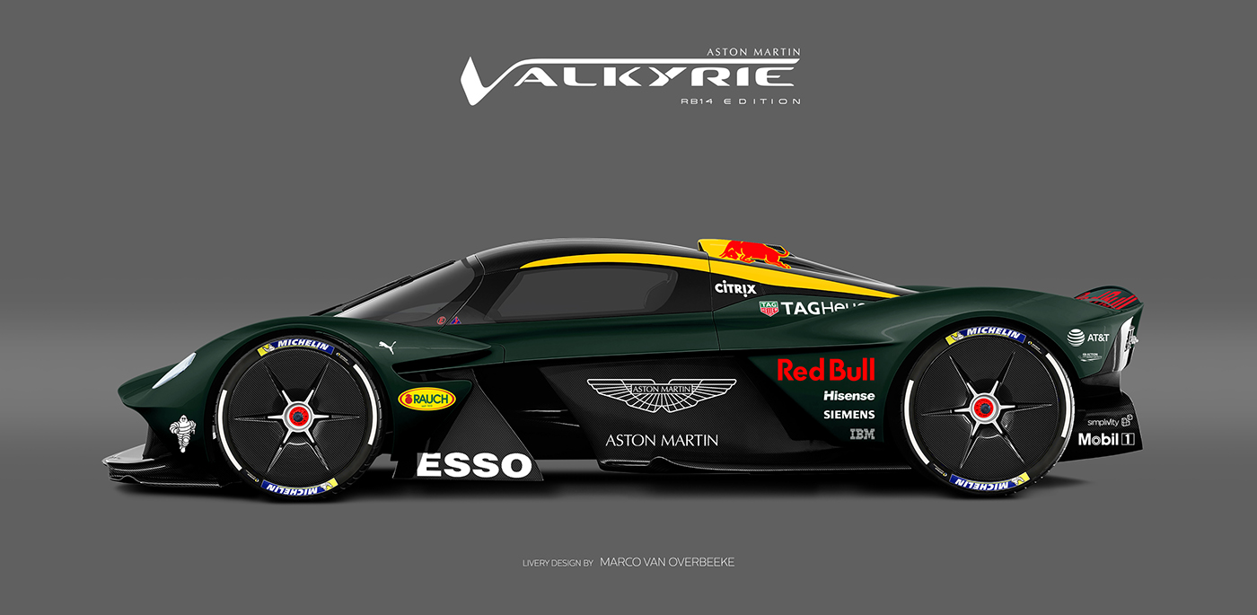 Aston Martin Valkyrie Livery Volante and AMR concepts (12)