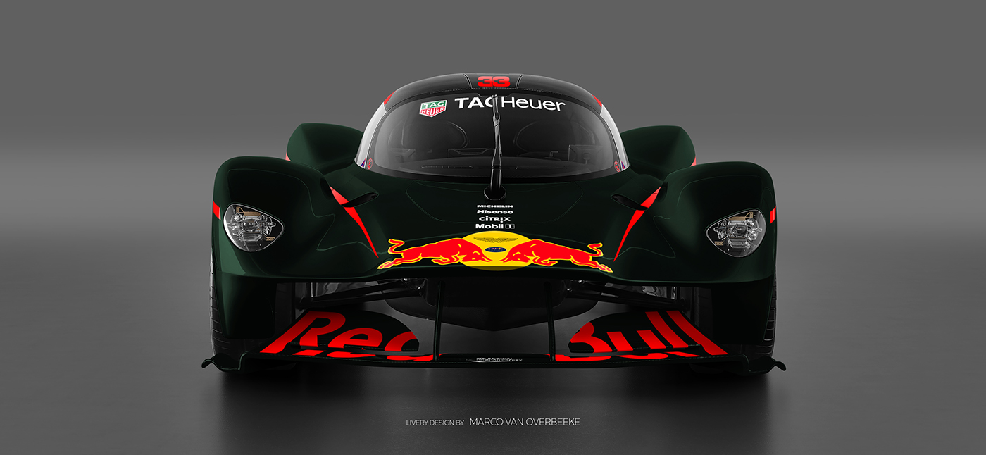 Aston Martin Valkyrie Livery Volante and AMR concepts (13)