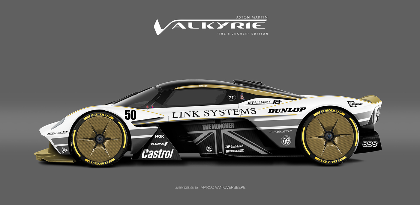 Aston Martin Valkyrie Livery Volante and AMR concepts (14)