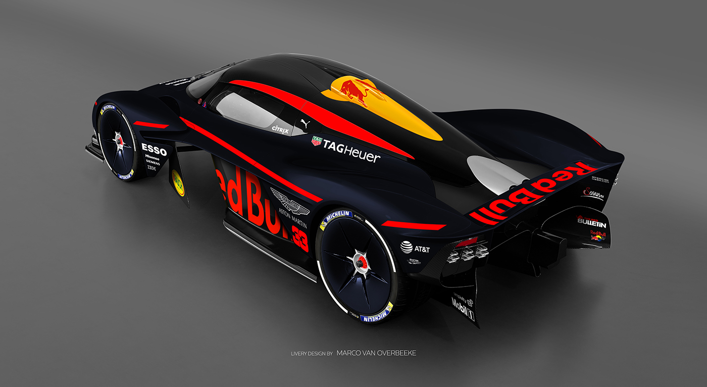 Aston Martin Valkyrie Livery Volante and AMR concepts (15)