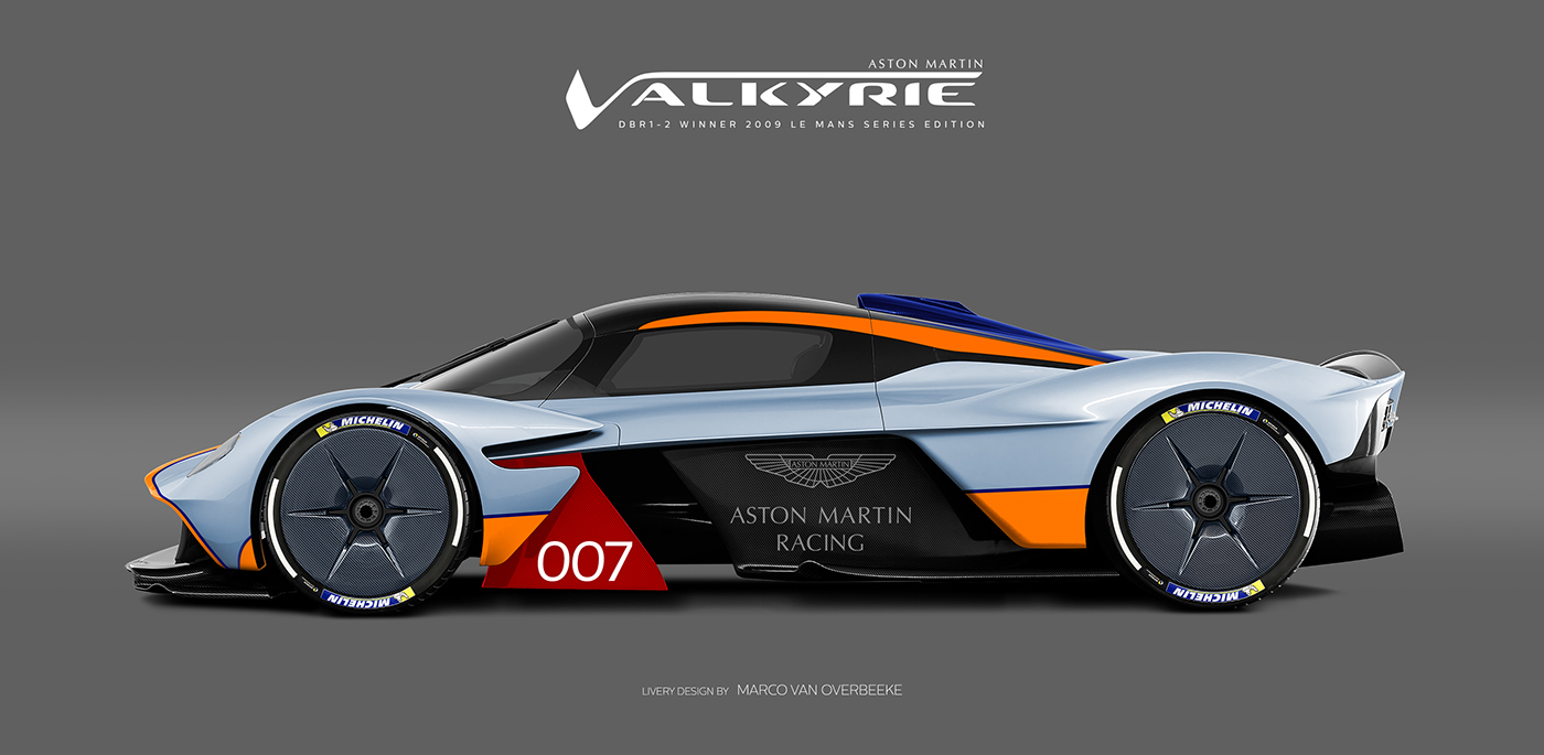 Aston Martin Valkyrie Livery Volante and AMR concepts (16)