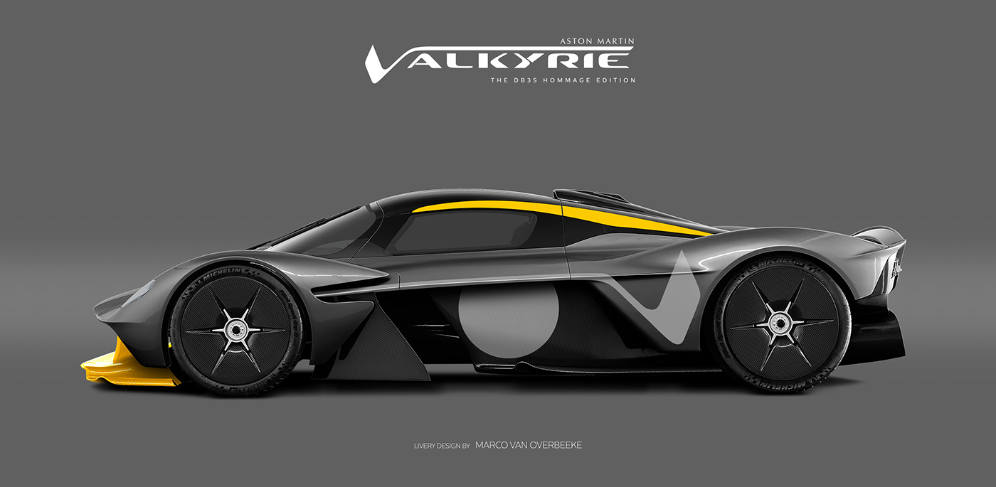 Aston Martin Valkyrie Livery Volante and AMR concepts (17)