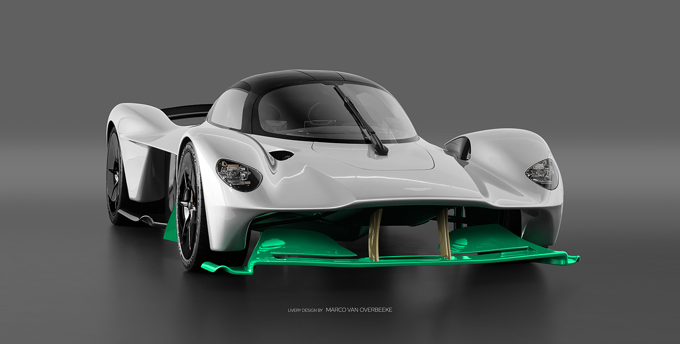 Aston Martin Valkyrie Livery Volante and AMR concepts (18)