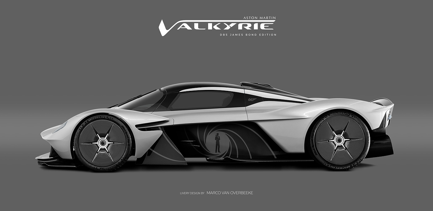 Aston Martin Valkyrie Livery Volante and AMR concepts (19)