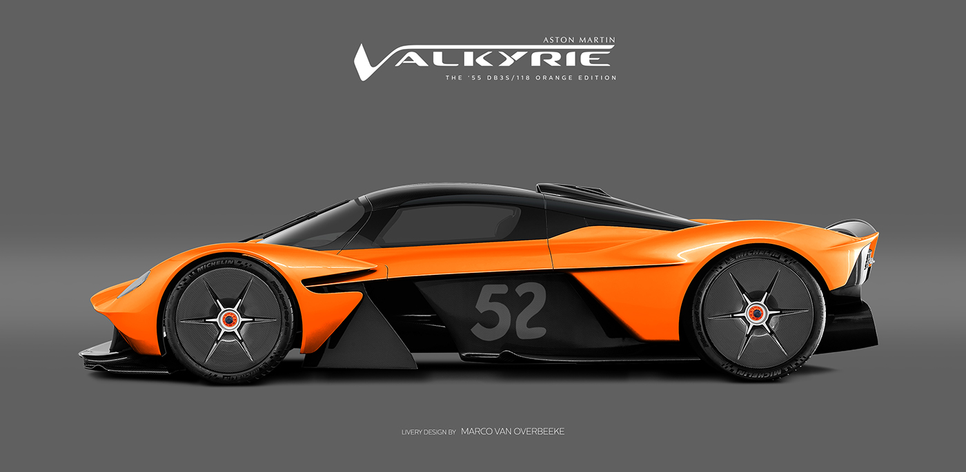 Aston Martin Valkyrie Livery Volante and AMR concepts (2)