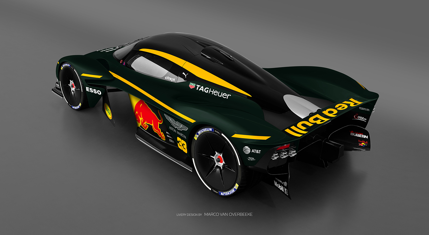 Aston Martin Valkyrie Livery Volante and AMR concepts (21)