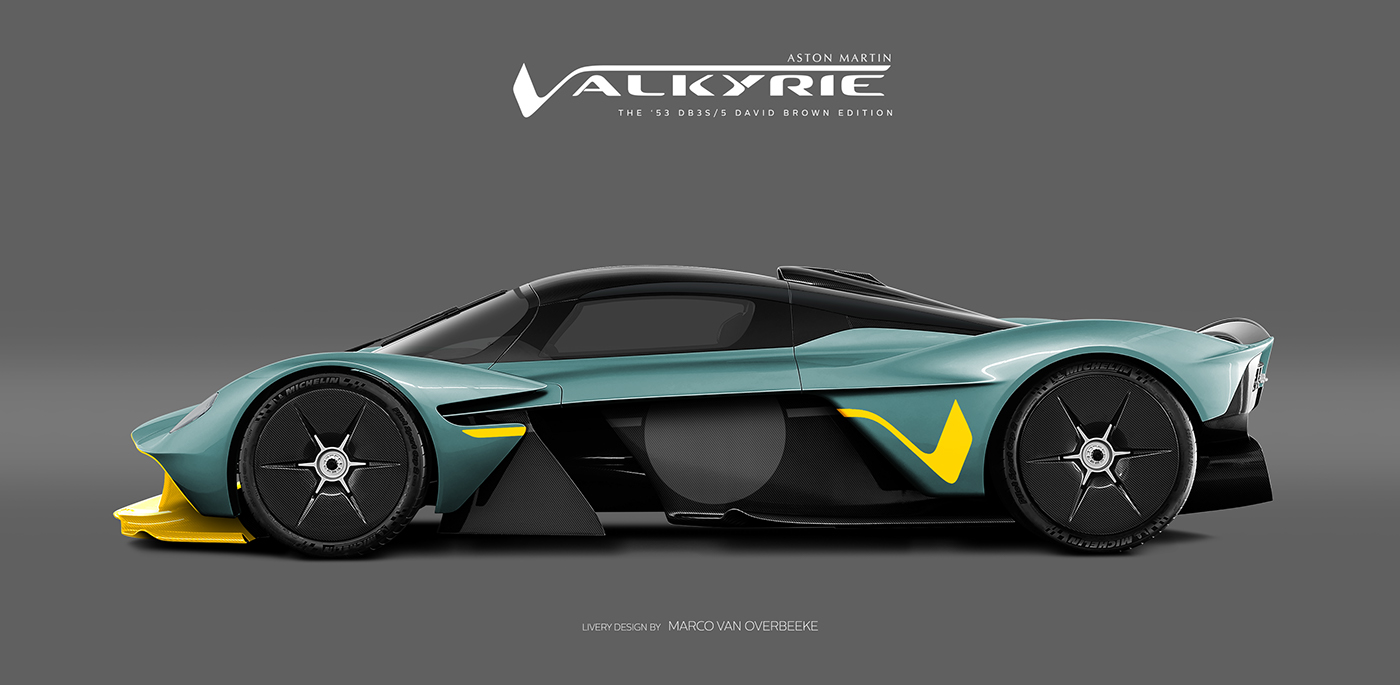 Aston Martin Valkyrie Livery Volante and AMR concepts (22)