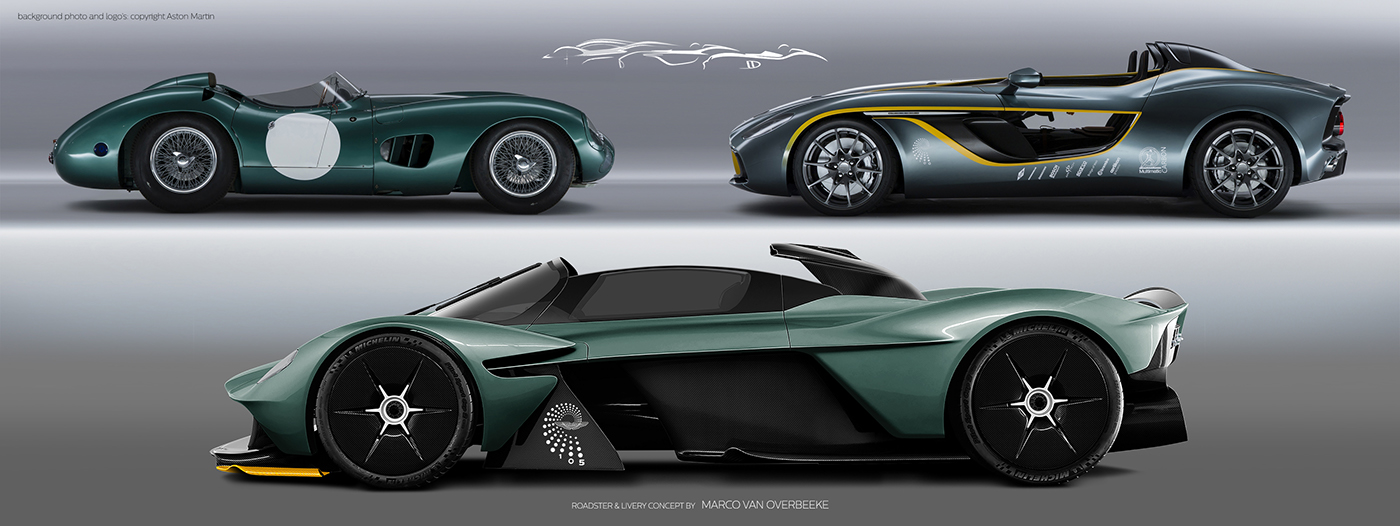 Aston Martin Valkyrie Livery Volante and AMR concepts (23)