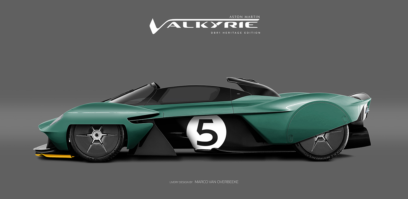 Aston Martin Valkyrie Livery Volante and AMR concepts (24)