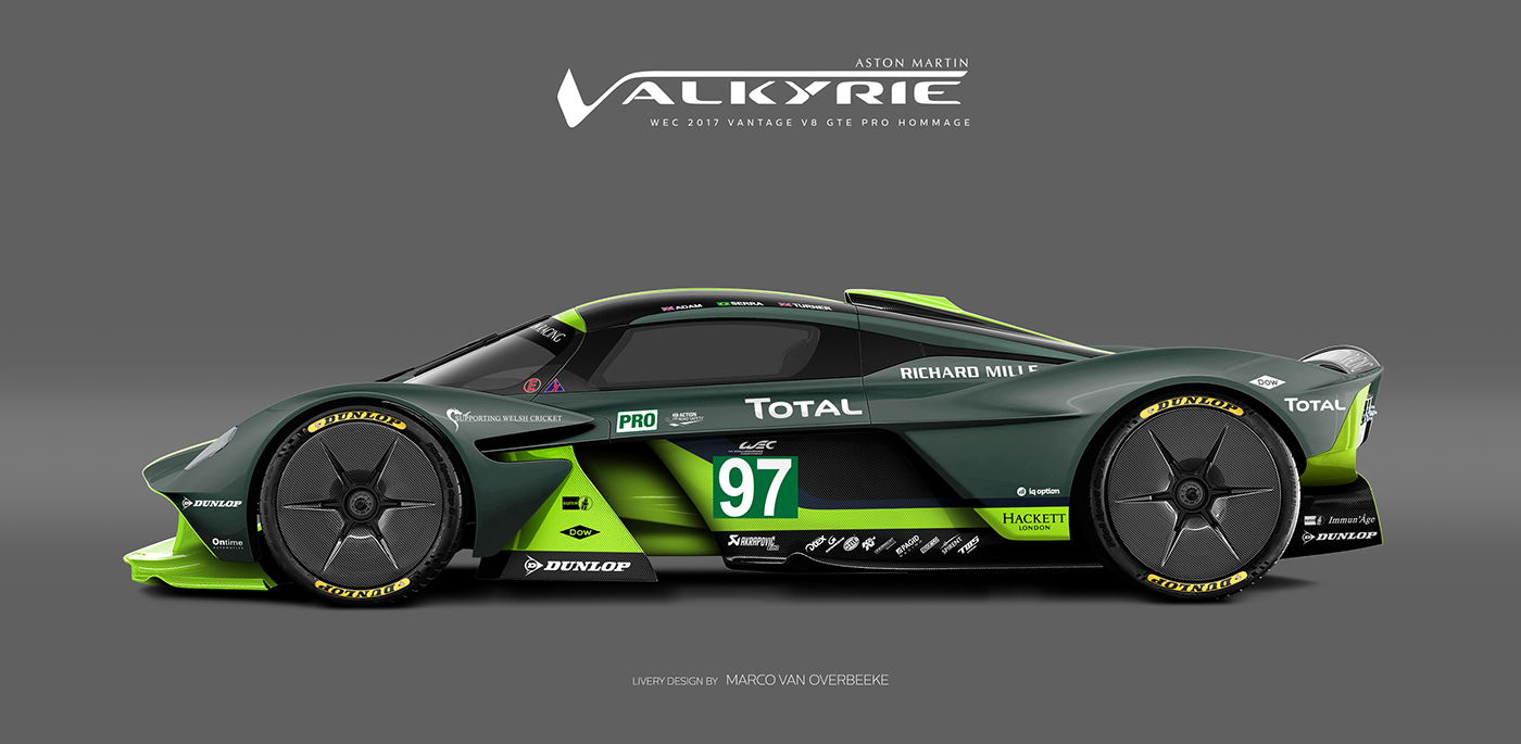 Aston Martin Valkyrie Livery Volante and AMR concepts (25)