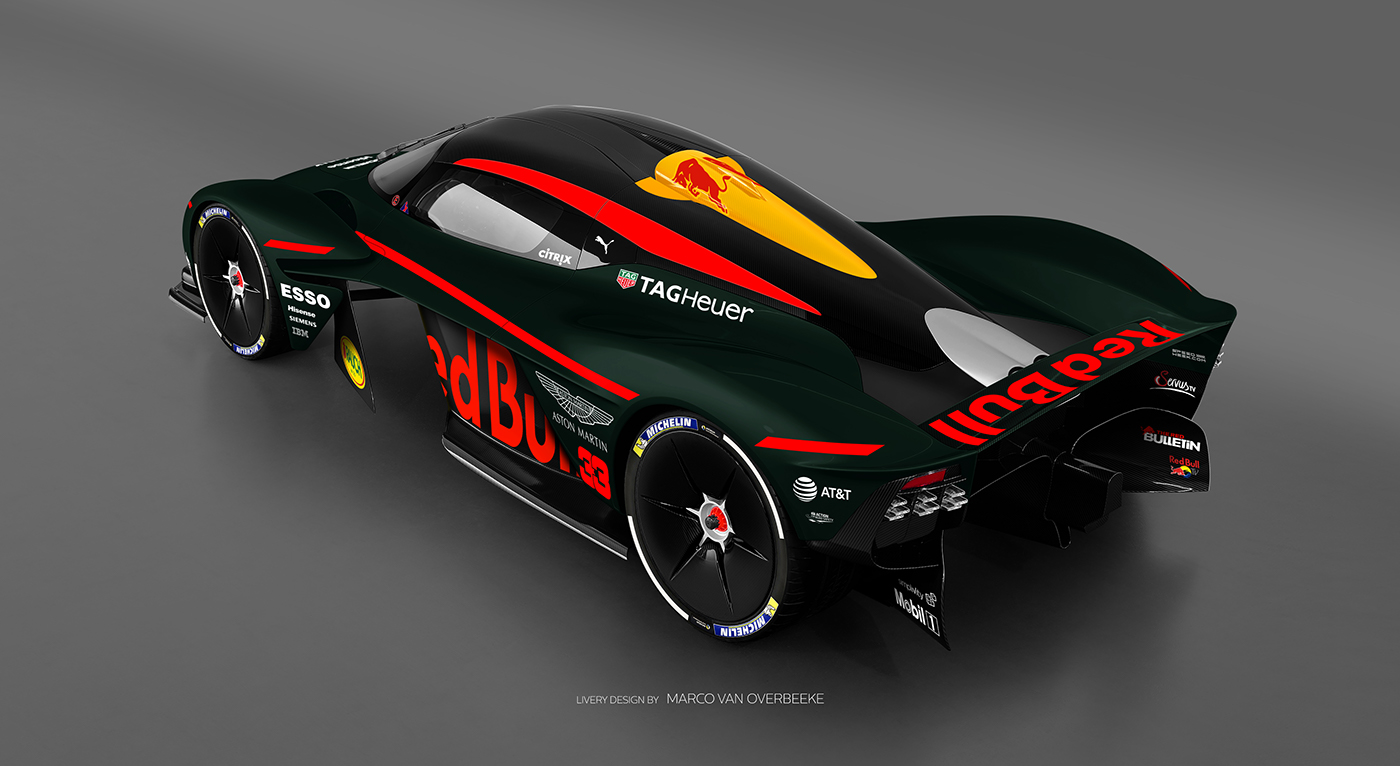 Aston Martin Valkyrie Livery Volante and AMR concepts (26)