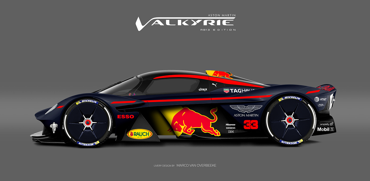 Aston Martin Valkyrie Livery Volante and AMR concepts (27)