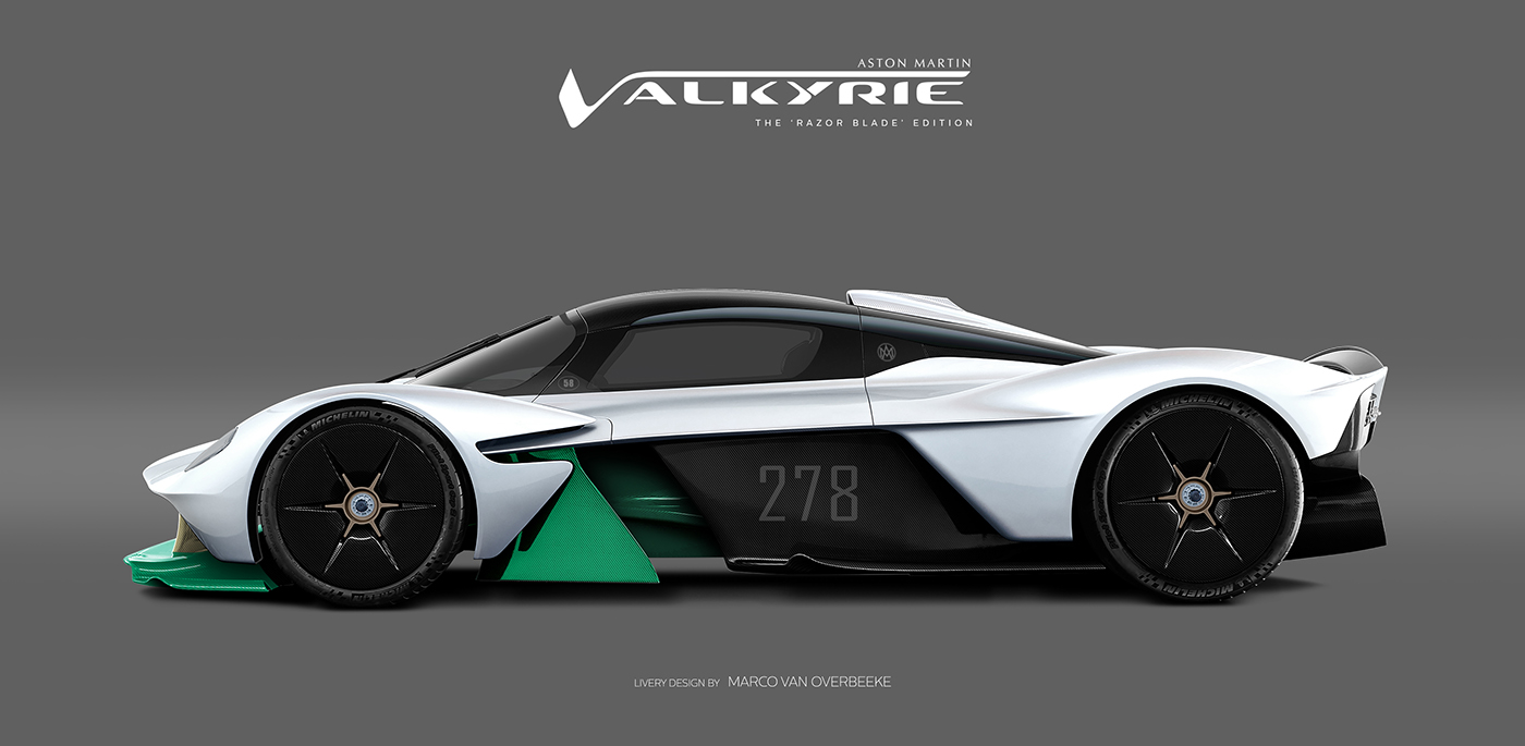 Aston Martin Valkyrie Livery Volante and AMR concepts (29)