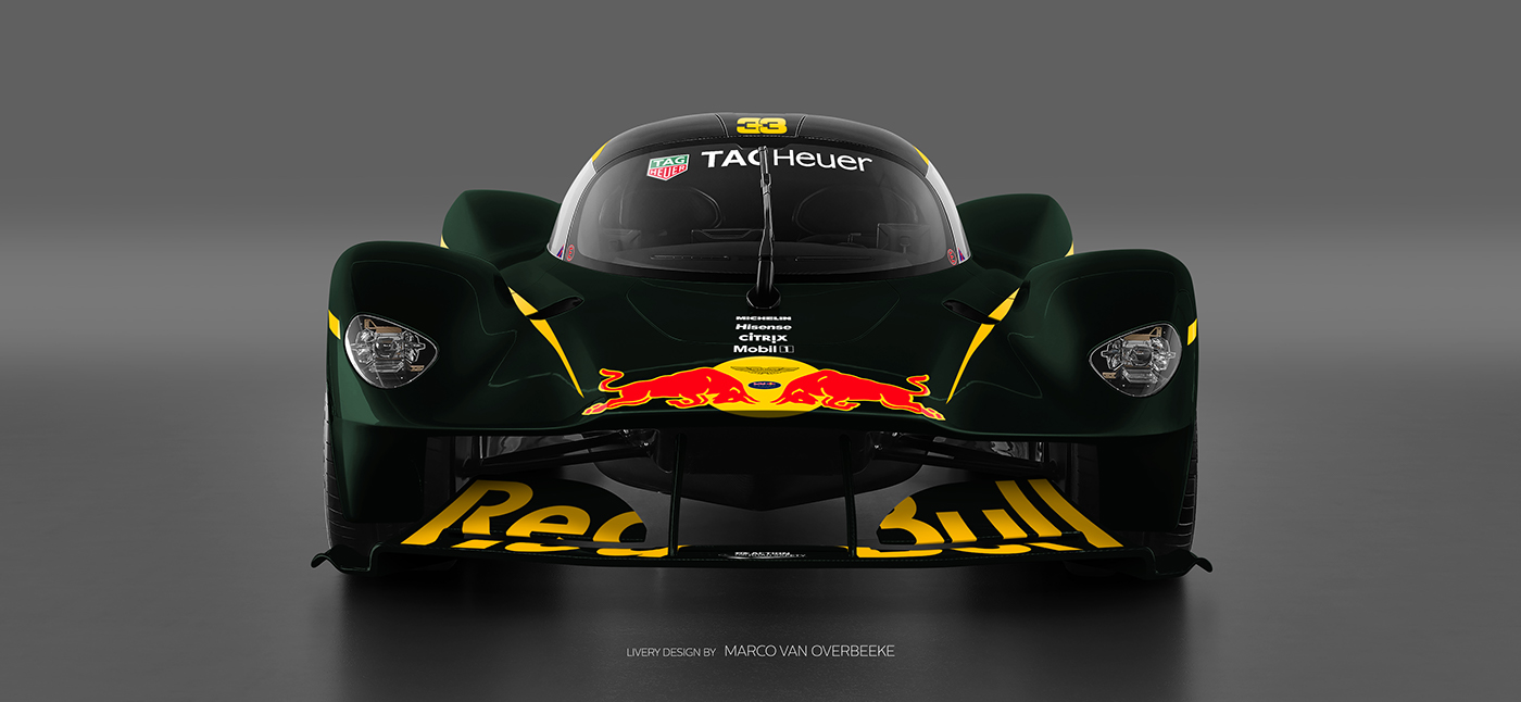 Aston Martin Valkyrie Livery Volante and AMR concepts (30)