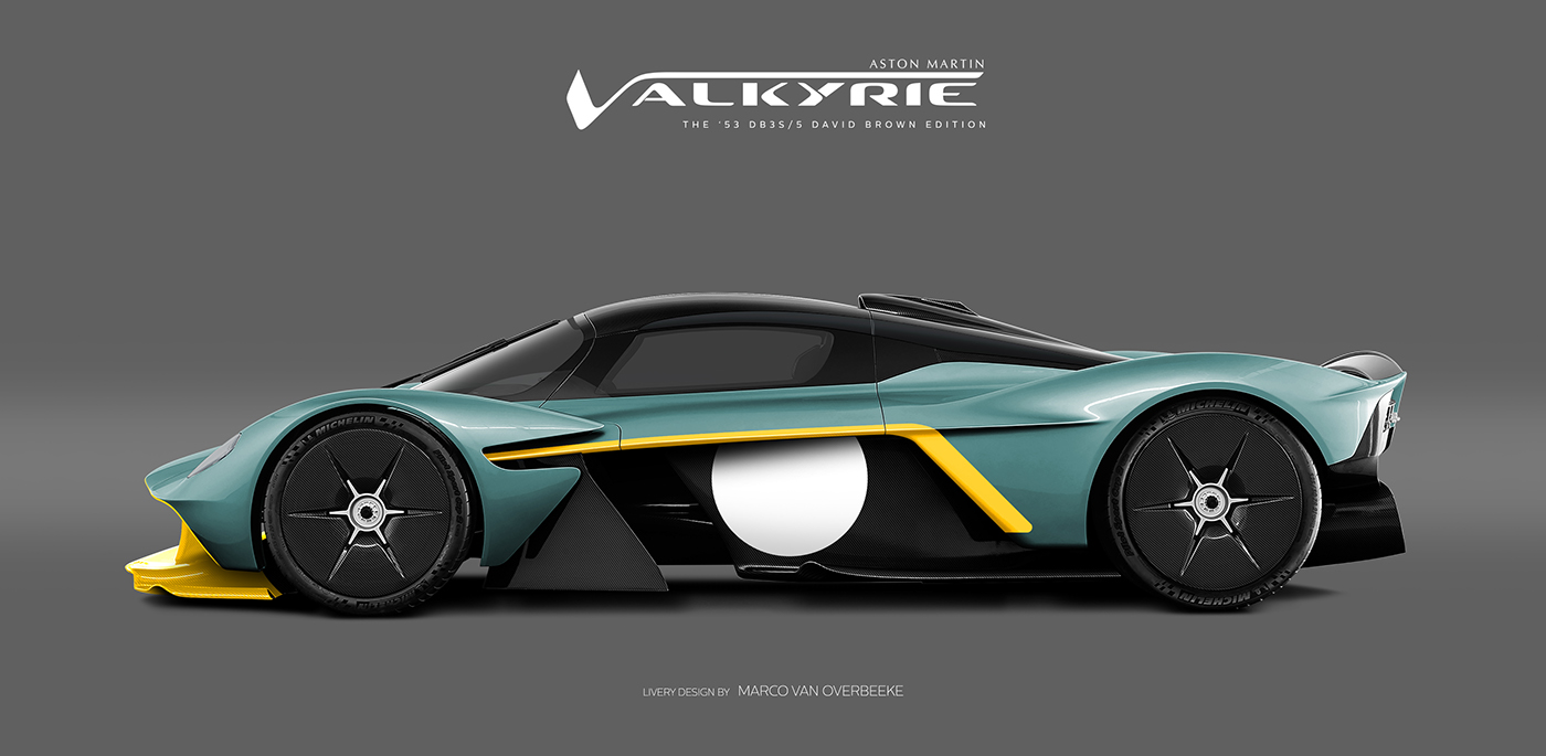 Aston Martin Valkyrie Livery Volante and AMR concepts (31)