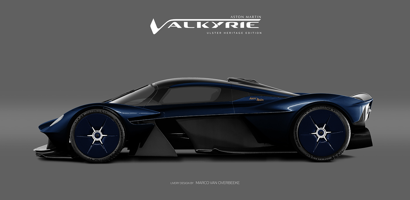 Aston Martin Valkyrie Livery Volante and AMR concepts (32)
