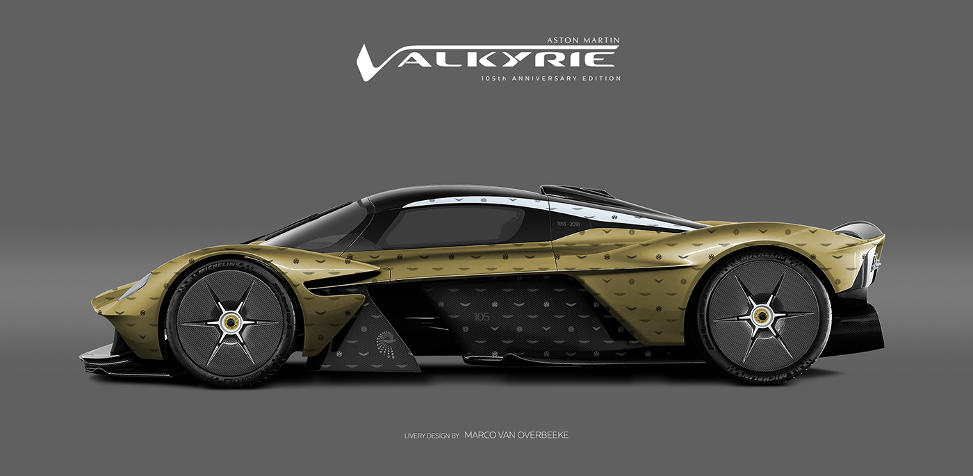 Aston Martin Valkyrie Livery Volante and AMR concepts (34)