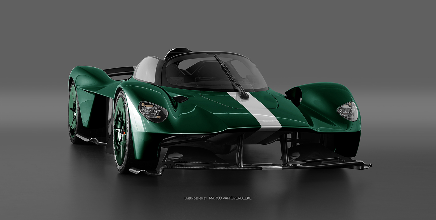 Aston Martin Valkyrie Livery Volante and AMR concepts (35)