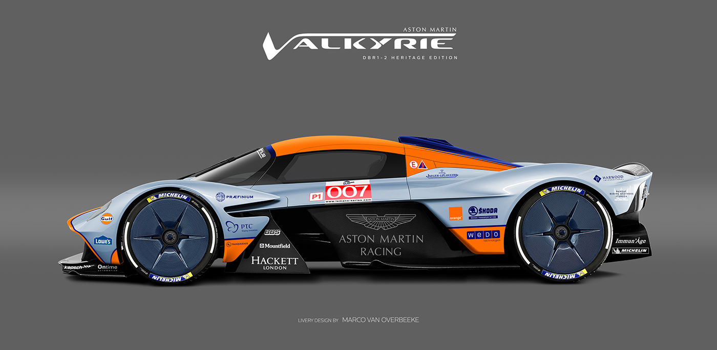 Aston Martin Valkyrie Livery Volante and AMR concepts (36)