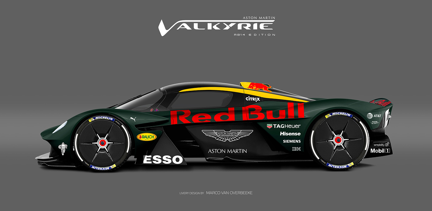 Aston Martin Valkyrie Livery Volante and AMR concepts (37)