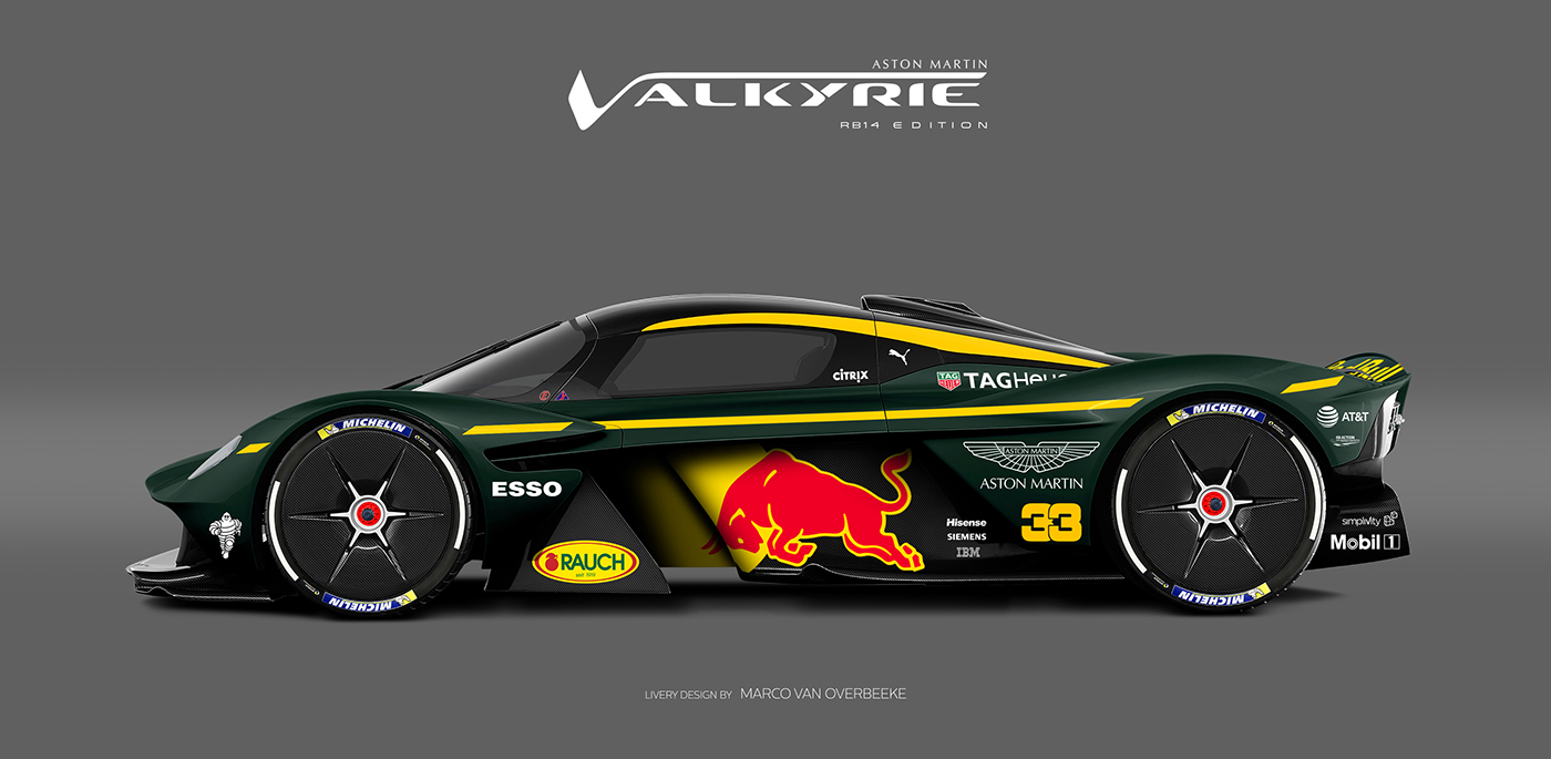 Aston Martin Valkyrie Livery Volante and AMR concepts (38)