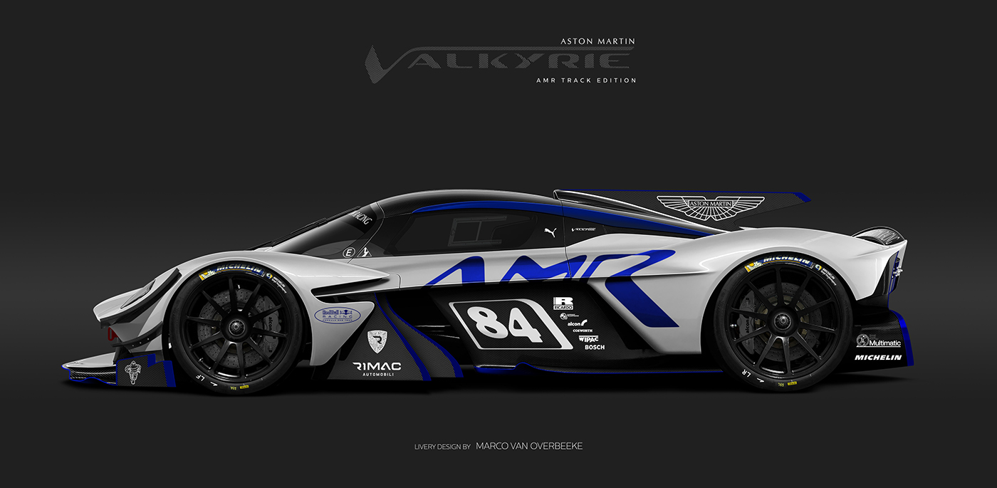 Aston Martin Valkyrie Livery Volante and AMR concepts (39)