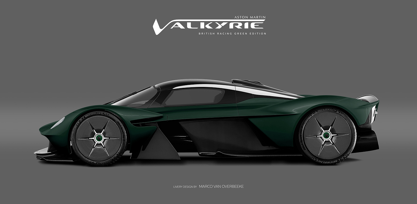 Aston Martin Valkyrie Livery Volante and AMR concepts (40)